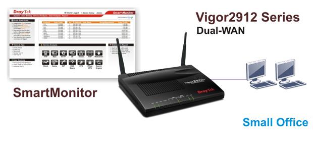 Smart Monitor Vigor 2912n