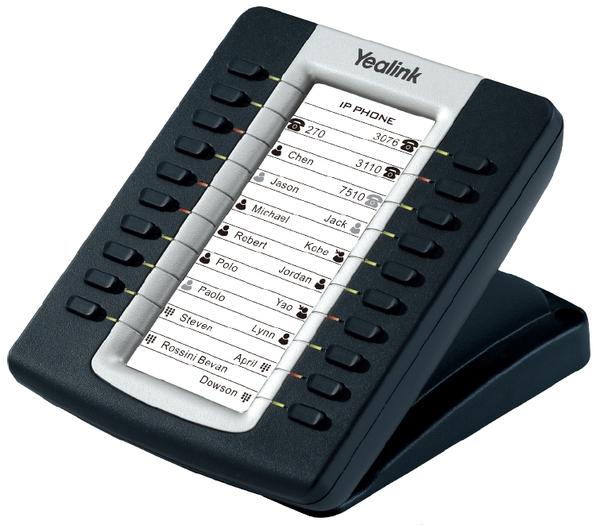 Кнопочная панель c LCD дисплеем Yealink EXP39, серая