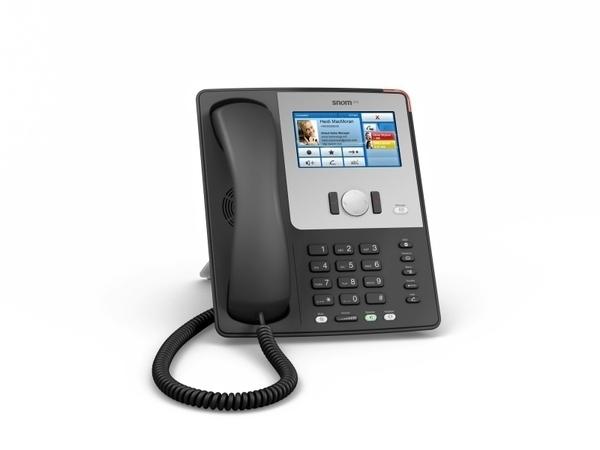 IP телефон Snom 870, черный