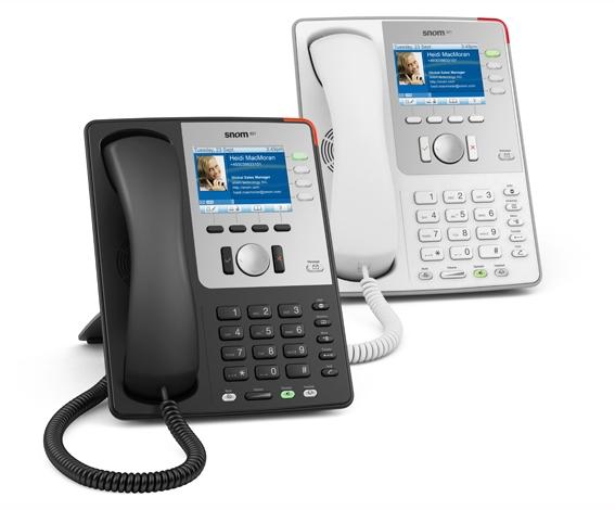 IP телефон Snom 821, cветло-серый