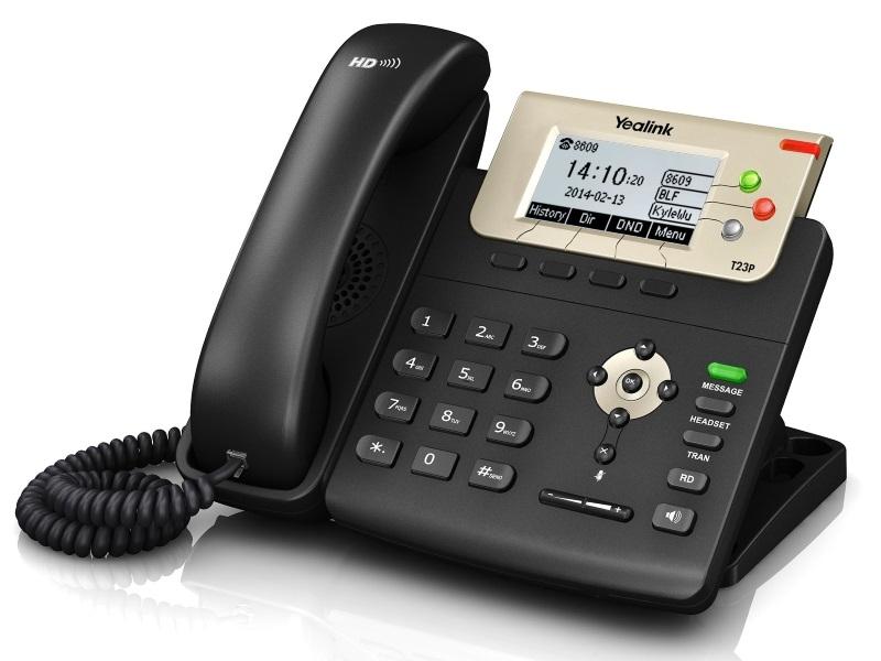 IP телефон Yealink SIP-T23P