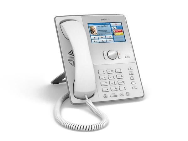 IP телефон Snom 870, cветло-серый
