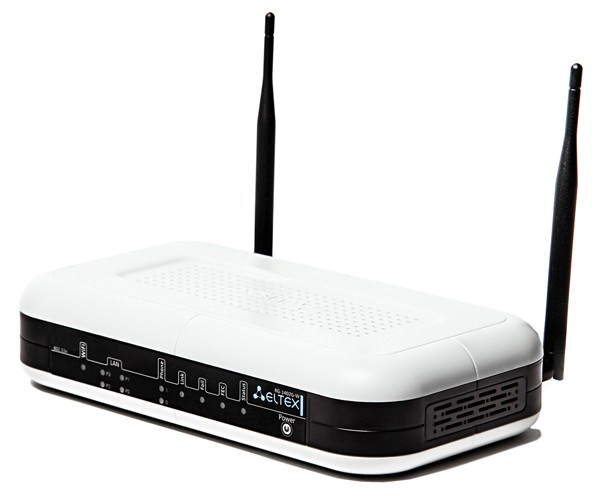 VoIP шлюз Eltex RG-1404G-W, 4xFXS, 1xWAN, 4xLAN, 1xUSB, Wi-Fi 802.11n