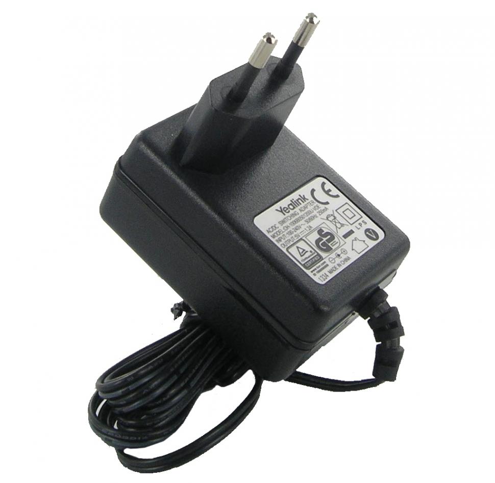 Блок питания для SIP-T20(P), SIP-T22(P), SIP-T26(P), SIP-T28(P), SIP-T41(P), SIP-T42G, 5VDC, 1.2A