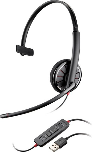 BlackWire C310 (PL-С310),проводная гарнитура,USB