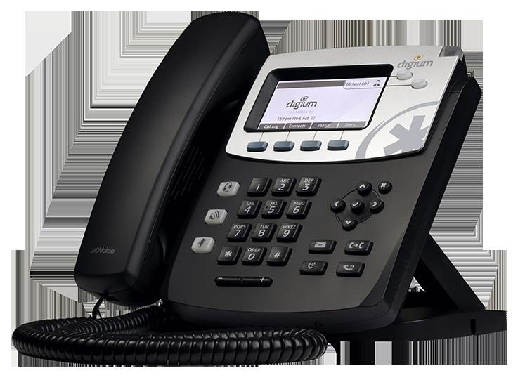IP телефон Digium D45