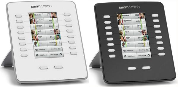 Модуль расширения клавиатуры Snom Vision, светло-серый