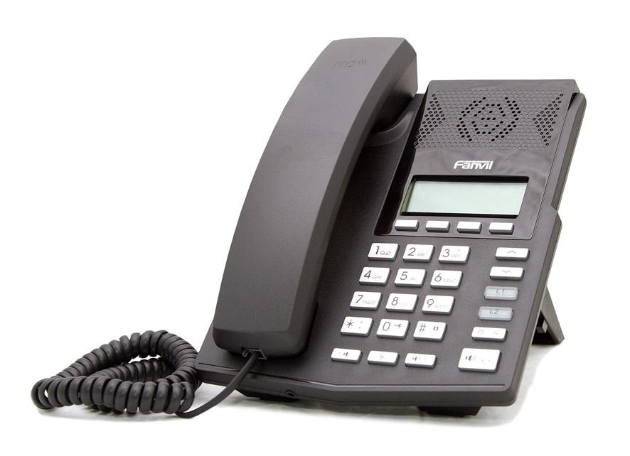 IP телефон Fanvil X3, черный