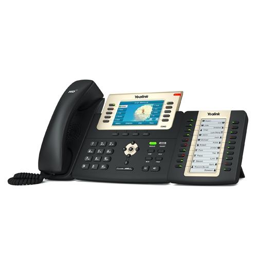 Кнопочная панель Yealink EXP20 c LCD для телефонов T27P/T29G