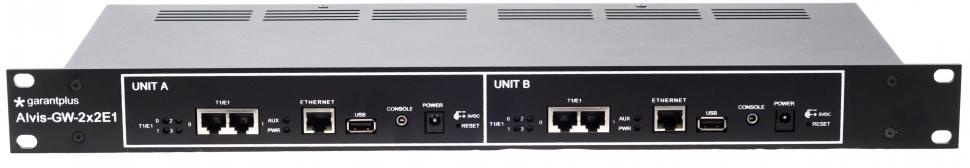 Garant Plus VoIP шлюз Alvis GW-2x2E1-R2