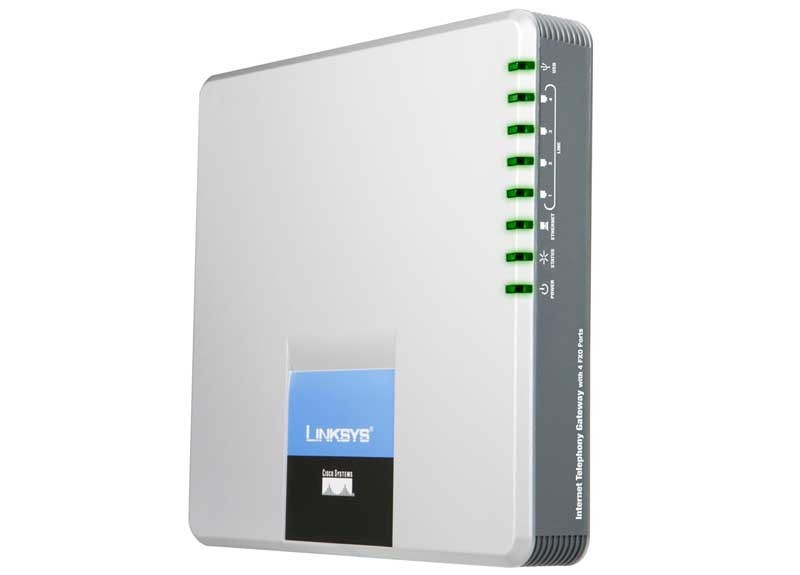 VoIP шлюз Linksys SPA400