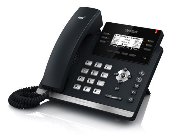IP телефон Yealink SIP-T41P (без БП)