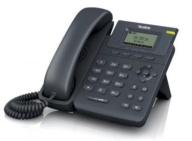 IP телефон Yealink SIP-T19 IP телефон Yealink SIP-T19, 1 линия, поддержка протокола SIP, 2 Ethernet порта 10/100 Мб/с.